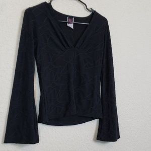 Wrapper cute long sleeve shirt size large